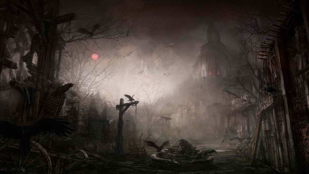 10 New Scary Halloween Wallpapers Hd FULL HD 1080p For PC Desktop 2018 free download scary halloween wallpapers wallpaper wiki 1024x576