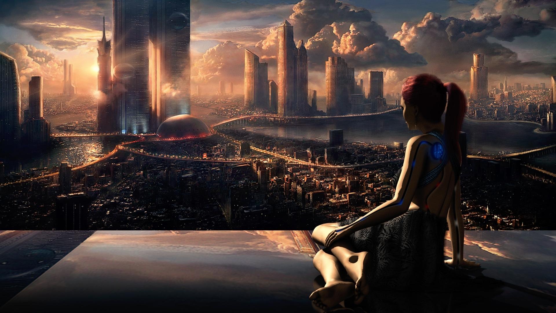 sci fi backgrounds - wallpaper.wiki