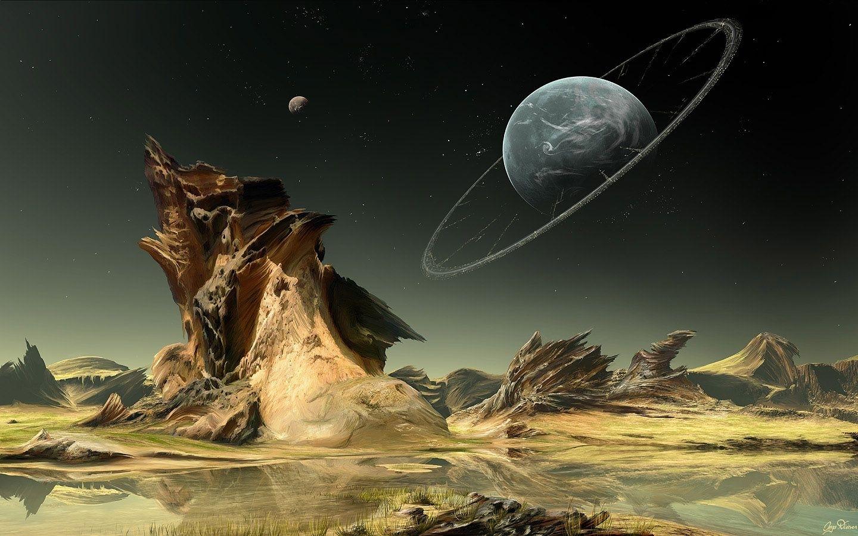 sci-fi fantasy artwork | 100 inspirational digital art wallpapers
