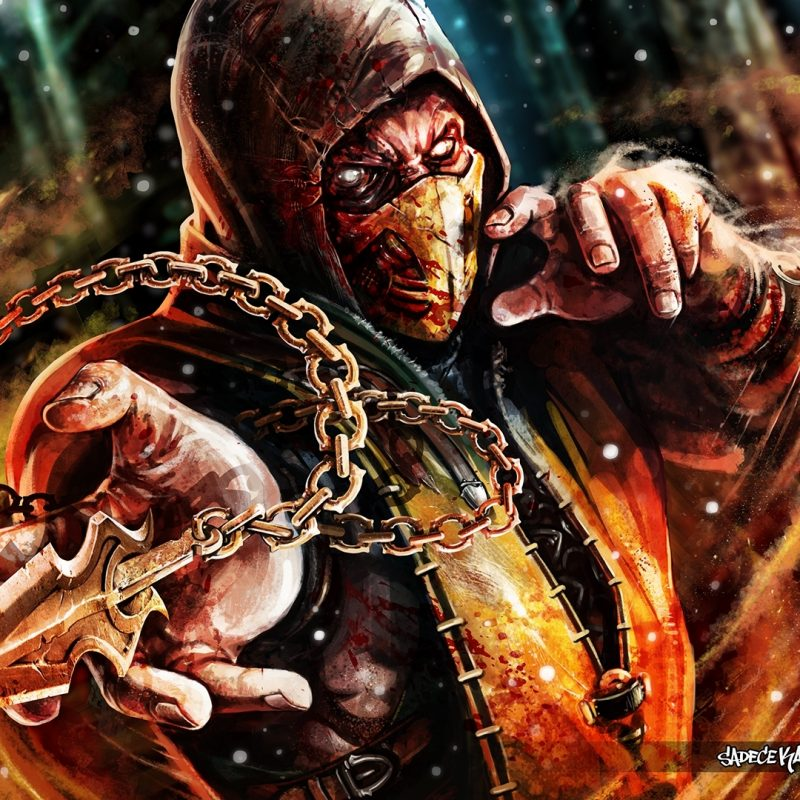 10 Latest Scorpion Mortal Kombat Wallpapers FULL HD 1920×1080 For PC Desktop 2018 free download scorpion mortal kombat x full hd fond decran and arriere plan 800x800