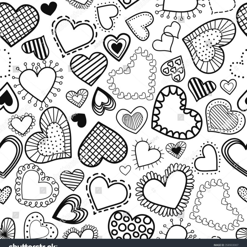 10 Top Black And White Hearts Wallpaper FULL HD 1080p For PC Background 2018 free download seamless pattern hearts black white style stock vector 358903007 800x800
