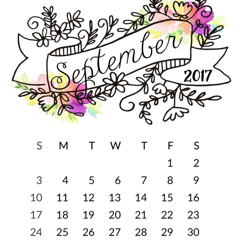 10 New September 2017 Calendar Wallpaper FULL HD 1080p For PC Background 2018 free download september 2017 calendar wallpapers wallpaper cave 800x800