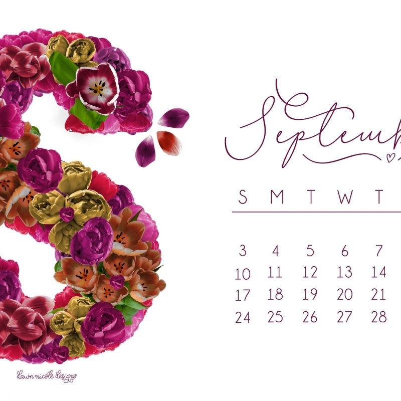 10 New September 2017 Calendar Wallpaper FULL HD 1080p For PC Background 2018 free download september 2017 printable calendar tech pretties dawn nicole designs 800x800