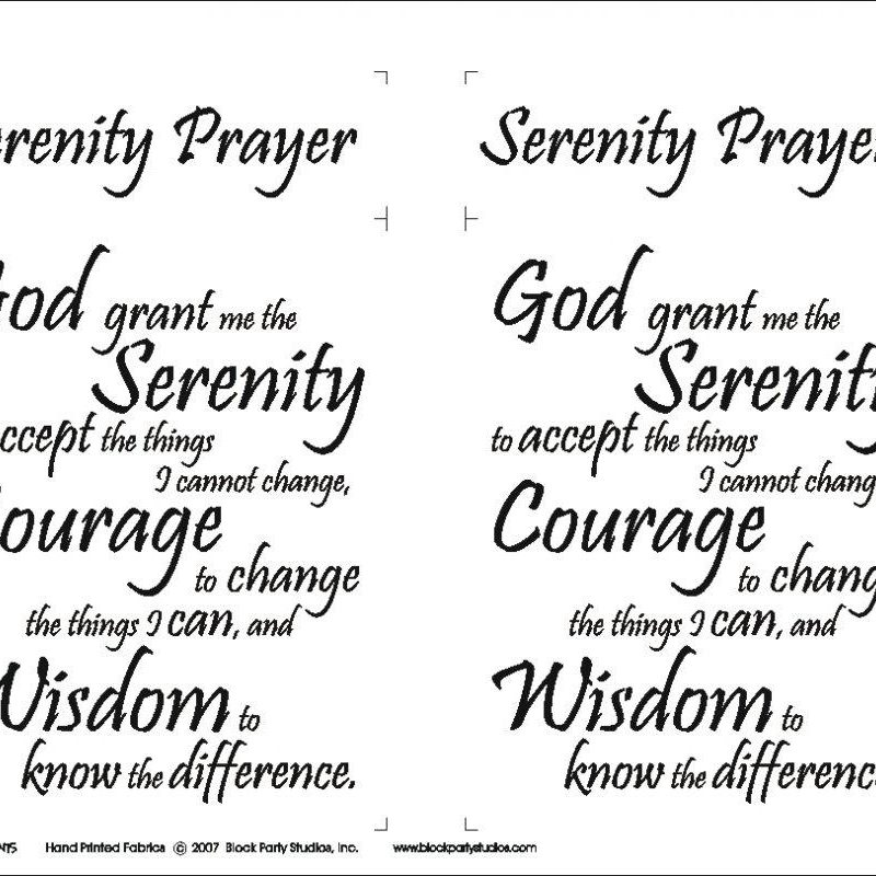 10 Latest Images Of The Serenity Prayer FULL HD 1080p For PC Desktop 2018 free download serenity prayer fabric panelblock party studios 645bw 800x800