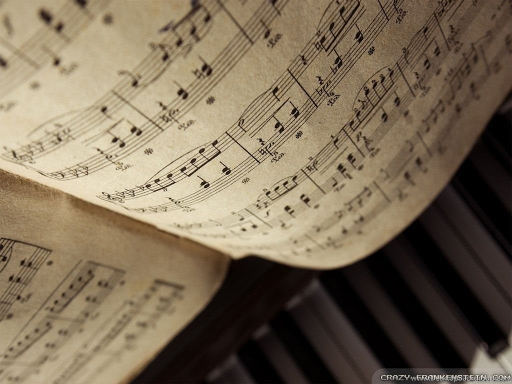 sheet music desktop background music sheets wallpapers crazy
