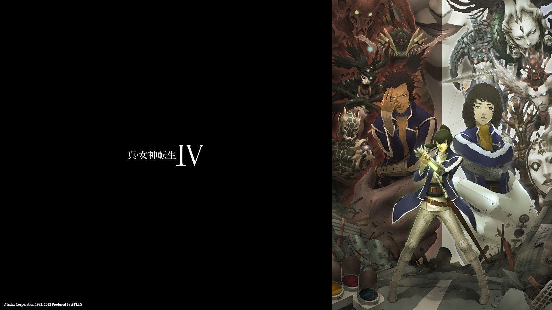shin megami tensei wallpapers - wallpaper cave
