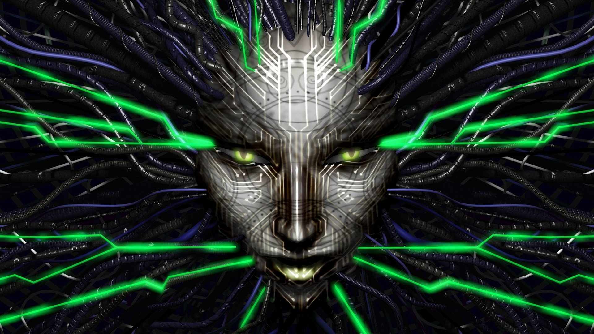 shodan from system shock 2 full hd fond d'écran and arrière-plan