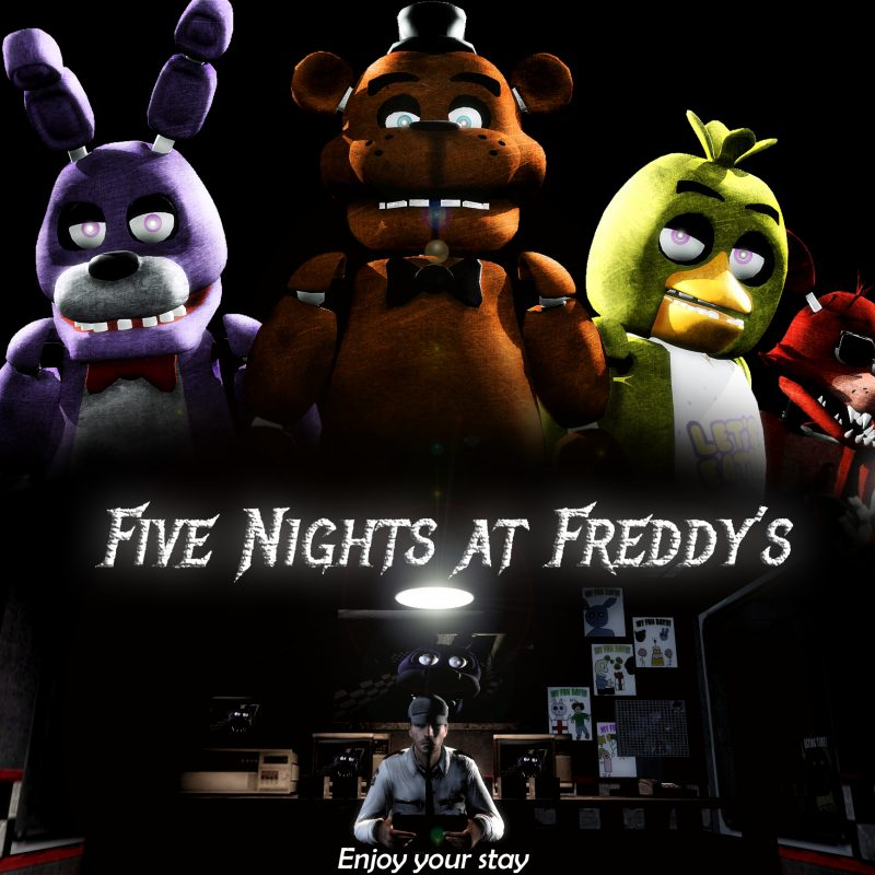 10 Best Five Nights At Freddy's Backgrounds FULL HD 1080p For PC Background 2020 free download sieluvzsoul images five nights at freddys hd wallpaper and 800x800