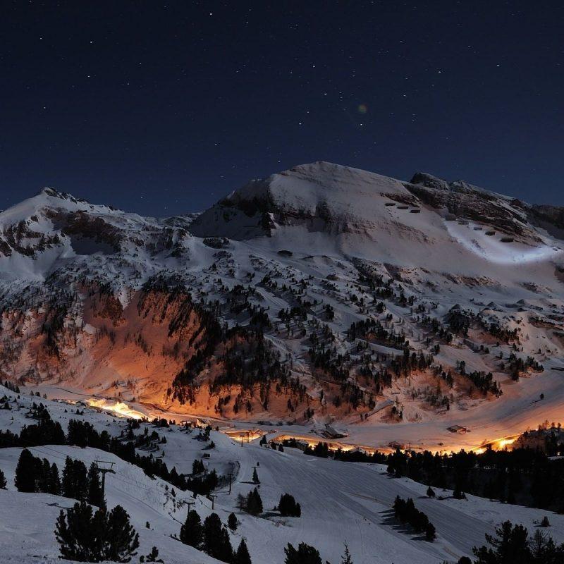 10 New Snow Mountains Wallpaper Night FULL HD 1920×1080 For PC Desktop 2018 free download ski wallpapers ski wallpapers for desktop handpicked ski 1600x900 800x800
