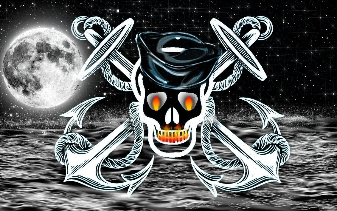 skull and anchor crossmybabyrocksmyworld on deviantart