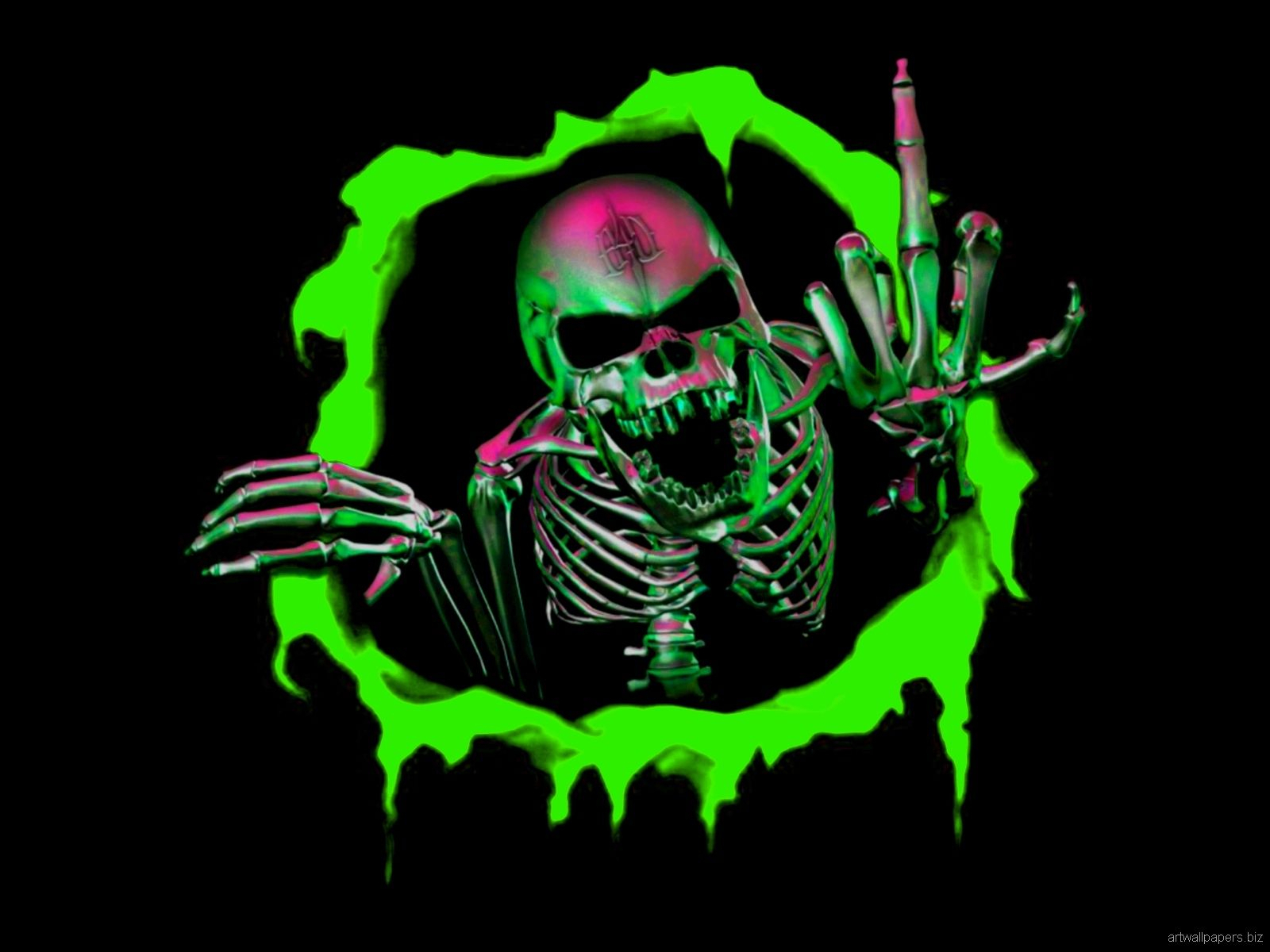 skull wallpaperlordzoltan on 1024x768px ~ cool skulls