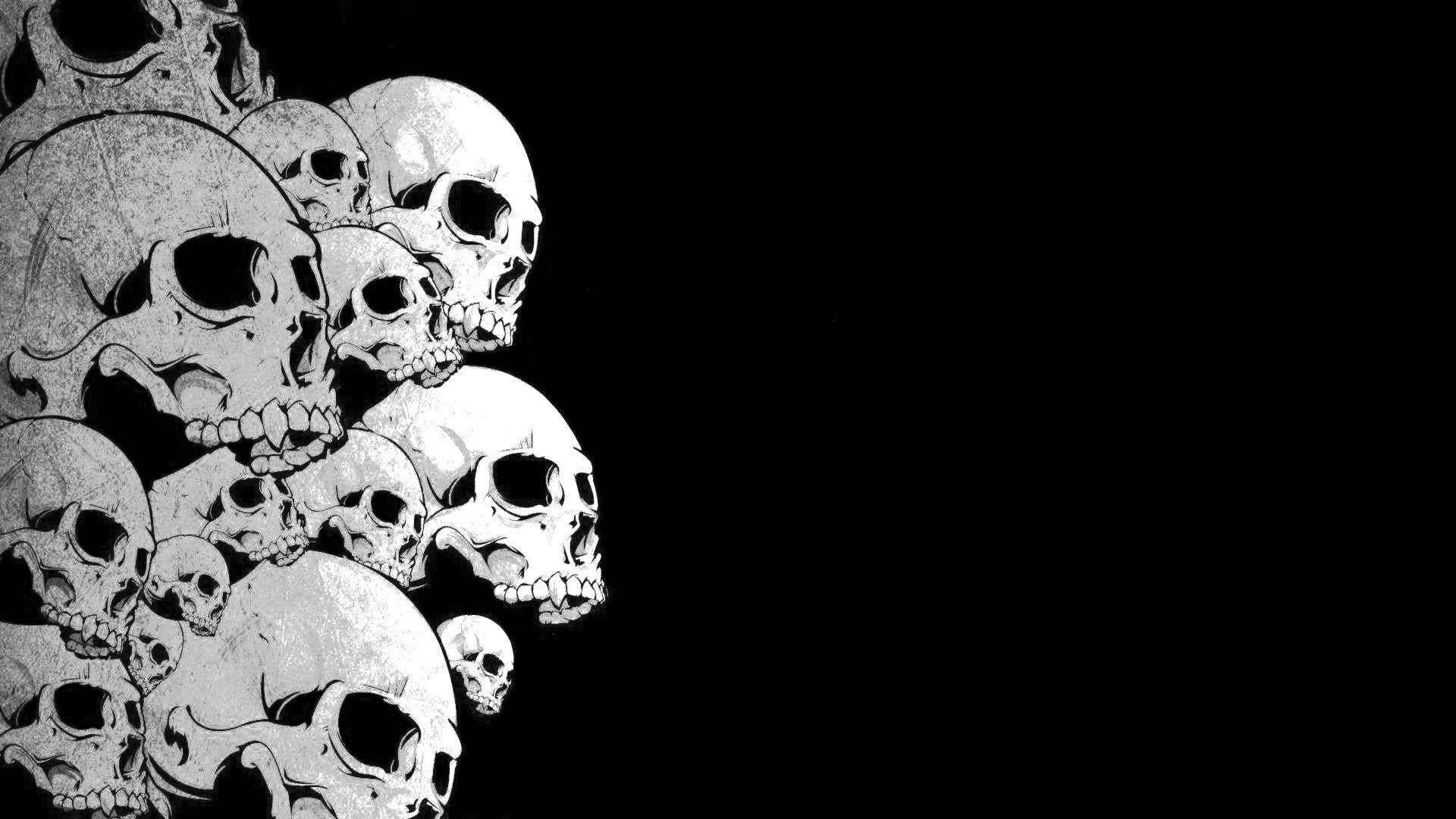 skull wallpapers 1920x1080 group (90+)