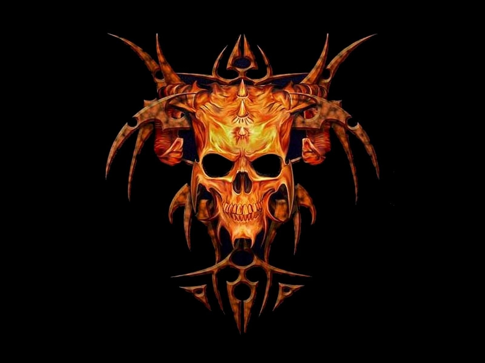 skull wallpapers download group (83+)