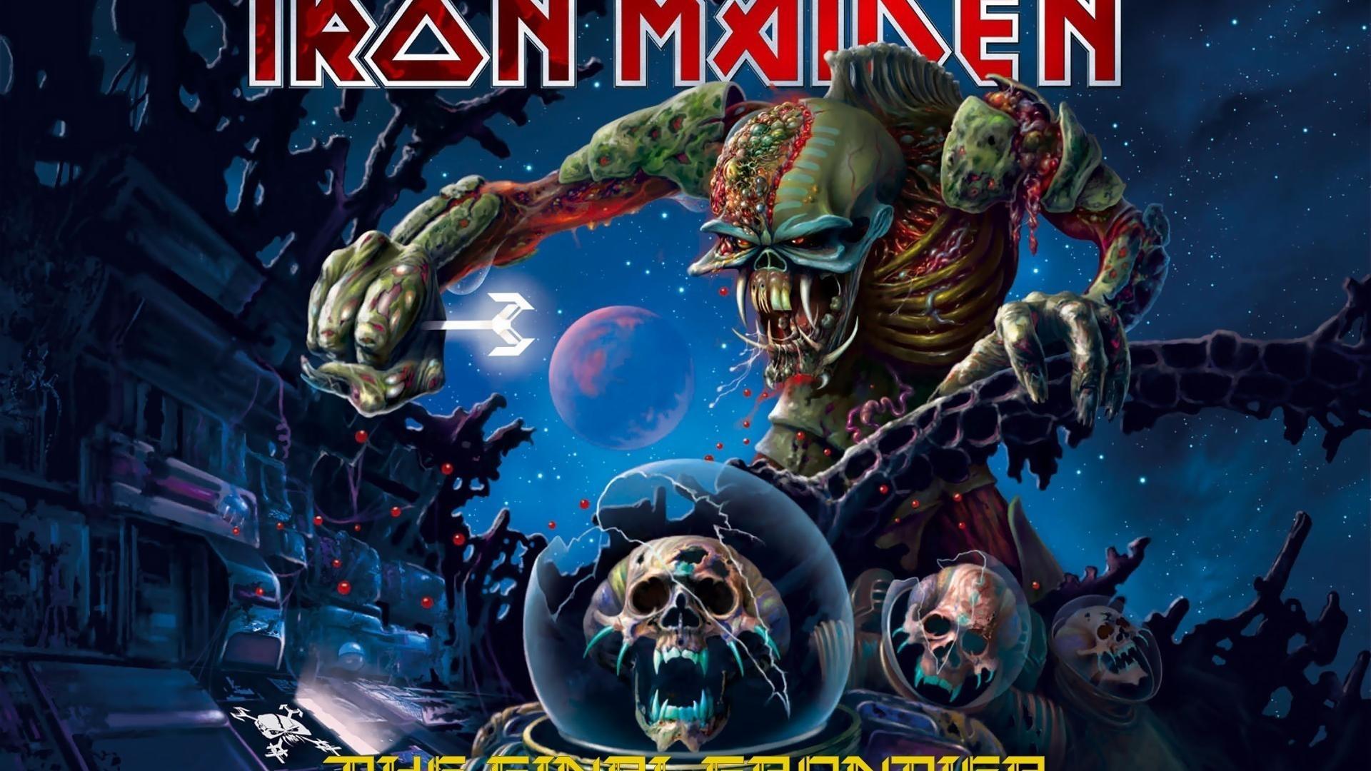 skulls music iron maiden wallpaper   (76199)