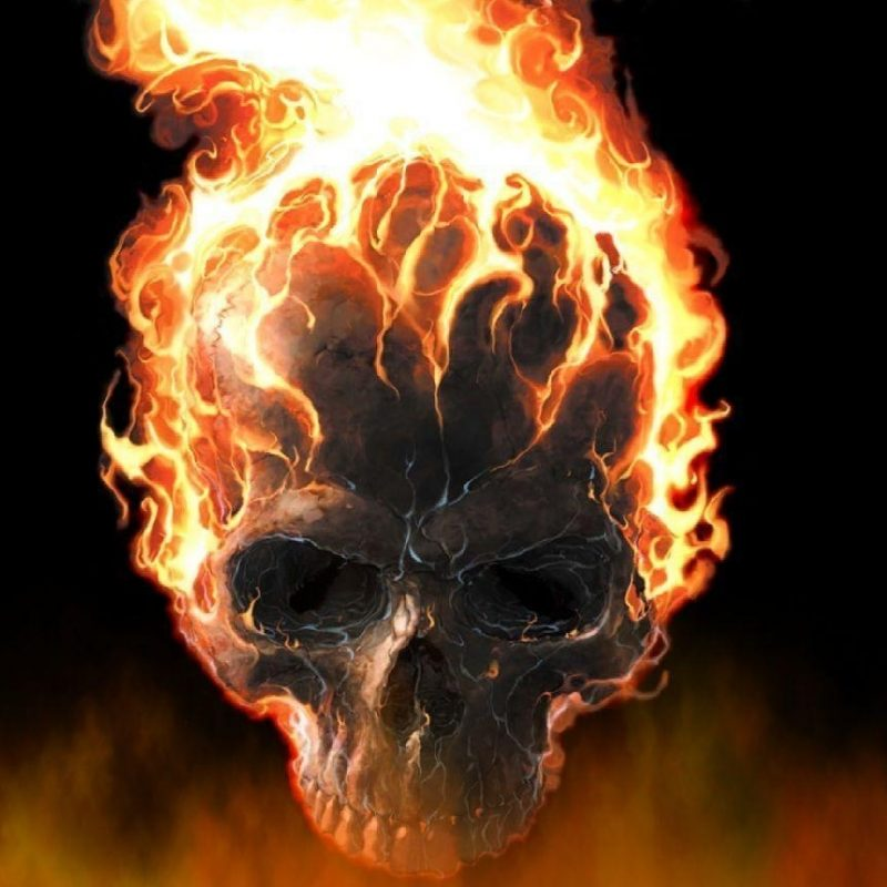 10 Top Skull On Fire Wallpaper FULL HD 1920×1080 For PC Background 2018 free download skulls on fire wallpapers wallpaper cave 800x800