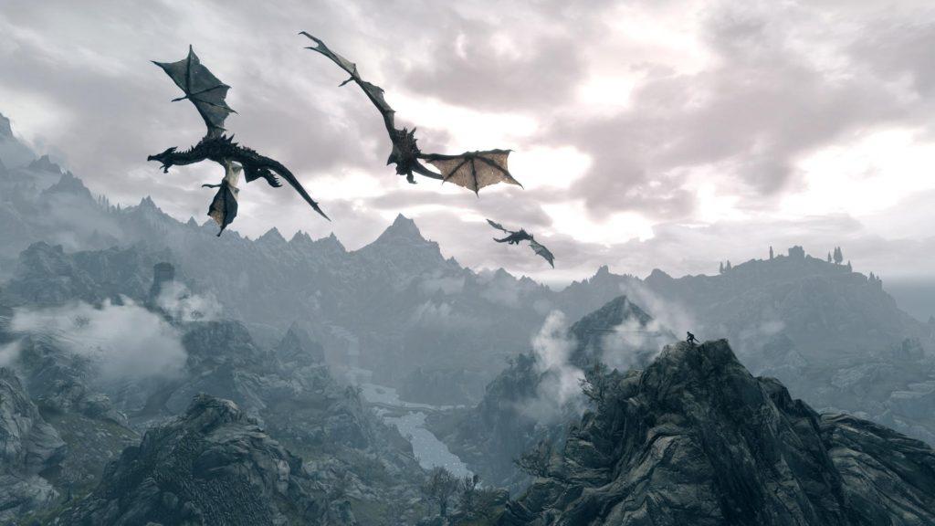 10 New Skyrim Dragon Wallpaper 1920X1080 FULL HD 1920×1080 For PC Background 2018 free download skyrim dragon the elder scrolls pinterest skyrim dragon 1024x576