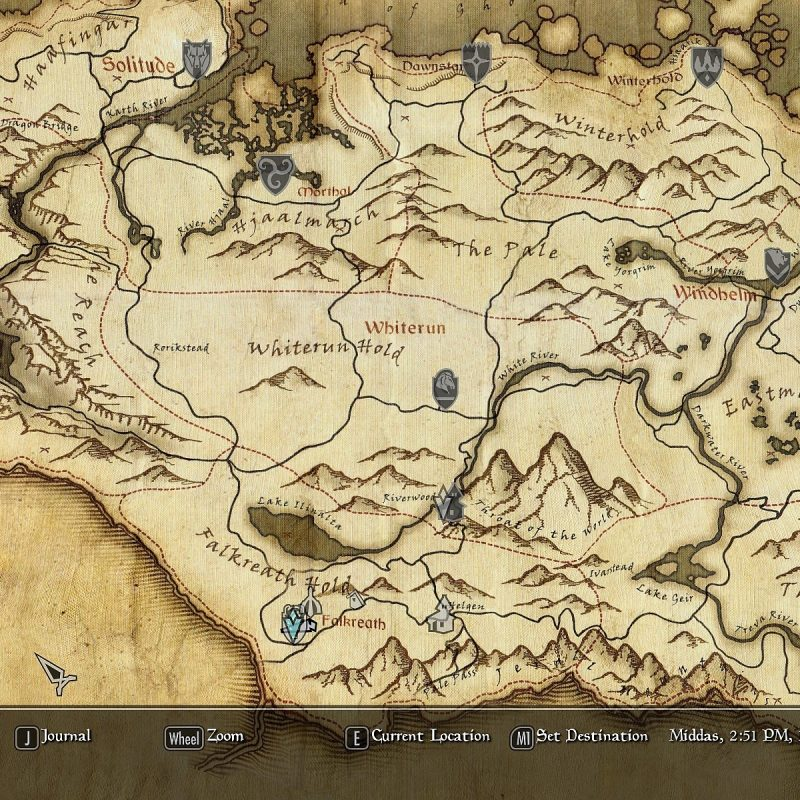 10 Most Popular Map Of Skyrim Wallpaper FULL HD 1080p For PC Background 2020 free download skyrim map high resolution skyrim maps house decor pinterest 800x800