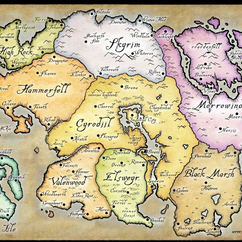 10 New Map Of Tamriel Wallpaper FULL HD 1080p For PC Background 2020 free download skyrim map over 25 different maps of skyrim to map out your journey 800x800