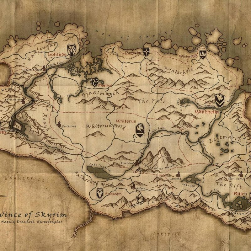 10 Most Popular Map Of Skyrim Wallpaper FULL HD 1080p For PC Background 2018 free download skyrim map wallpapers wallpaper cave 1 800x800