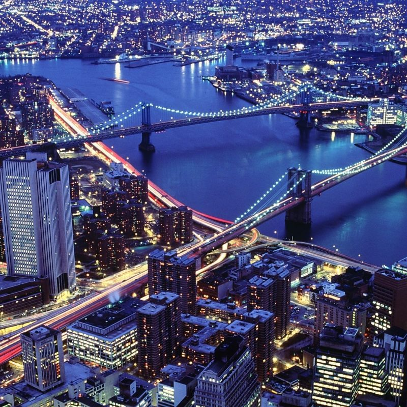 10 Best New York City Wallpaper Night FULL HD 1920×1080 For PC Background 2018 free download skyscrapers new york city night bridges river nyc lights images for 800x800