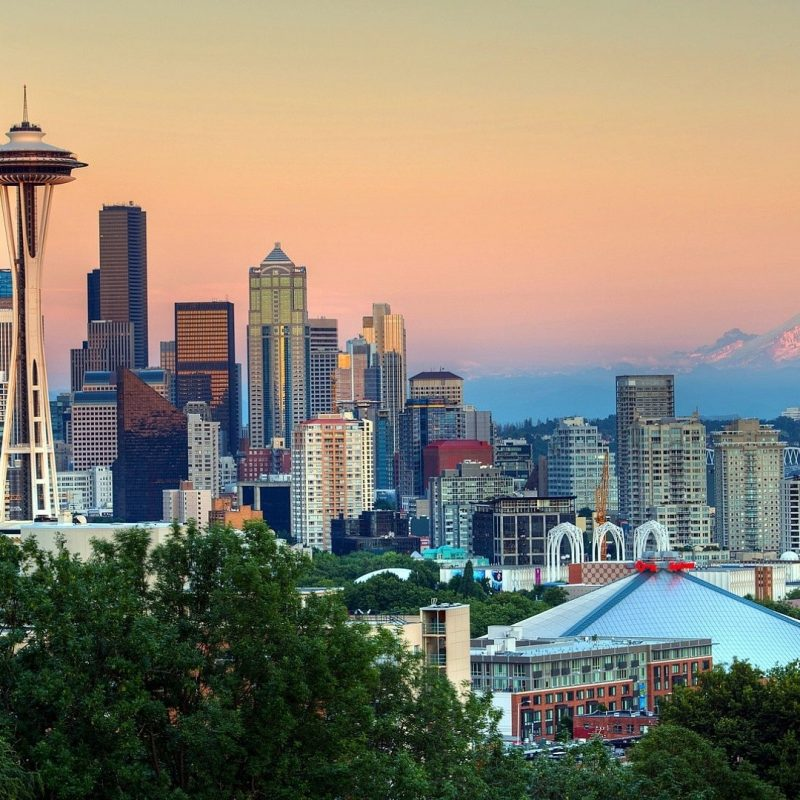 10 Most Popular Seattle Wallpaper Hd Widescreen FULL HD 1080p For PC Desktop 2020 free download skyscrapers seattle washington skyscrapers sunset mountains picture 800x800
