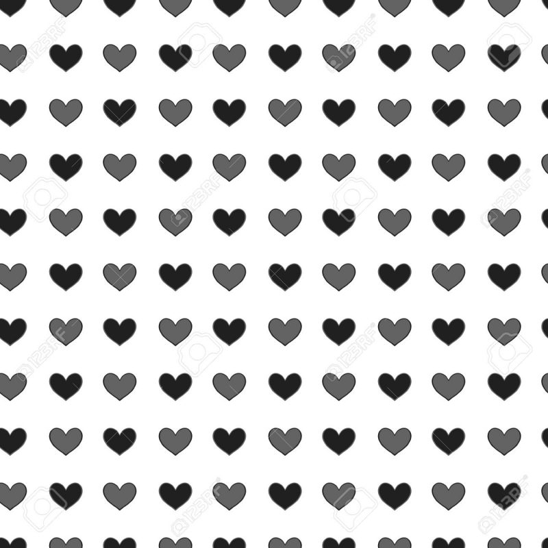 10 Most Popular Heart Background Black And White FULL HD 1920×1080 For PC Desktop 2021 free download small st valentine hearts simply seamless vector background 800x800