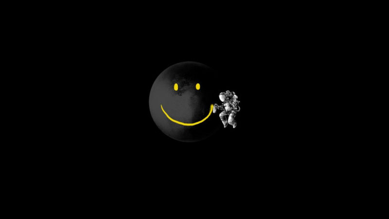 10 Most Popular Smiley Face Black Background FULL HD 1080p For PC Desktop 2020 free download smiley face spaceman black background 1920a wallpaper 1920x1080 800x450