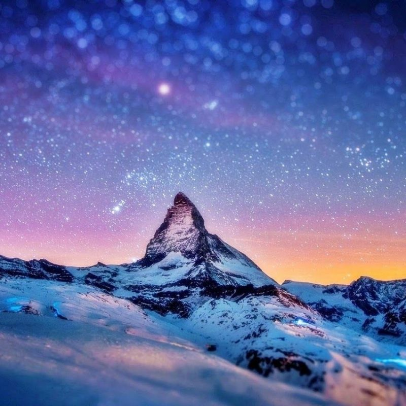 10 New Snow Mountains Wallpaper Night FULL HD 1920×1080 For PC Desktop 2018 free download snow mountain wallpaper hd snow mountain in night places to 800x800