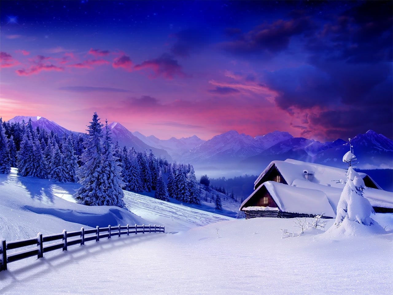 snow wallpapers wide » outdoors wallpaper 1080p