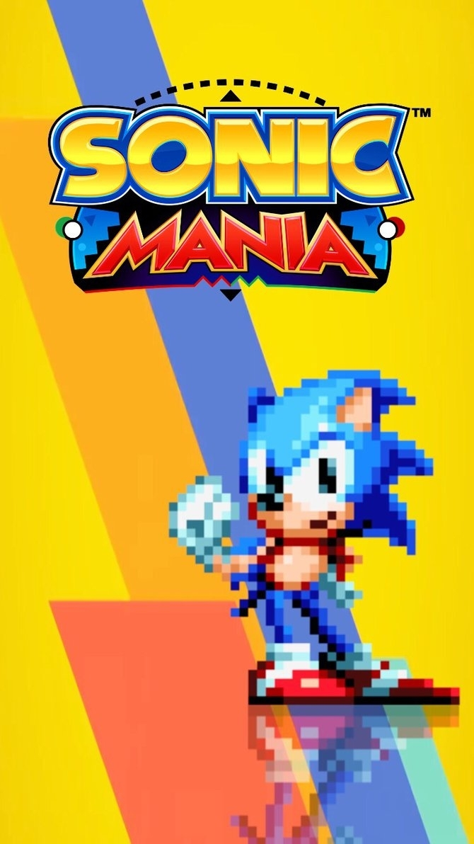 sonic mania iphone wallpaperaaronkasarion on deviantart