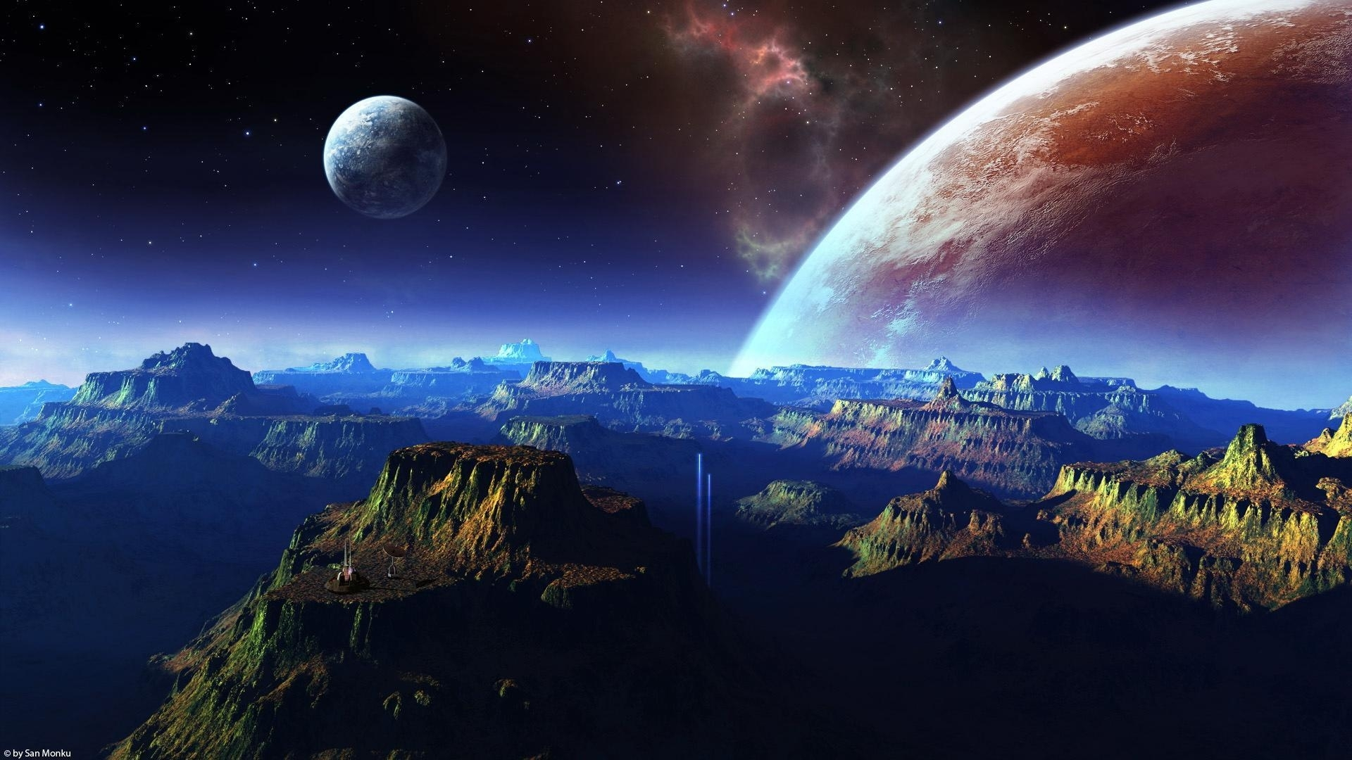 10 Latest Hd Real Space Wallpapers 1080P FULL HD 1080p For PC Background