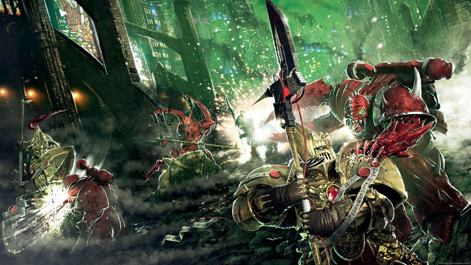 space marines wallpaper chaos space ma | space marines, exosuits