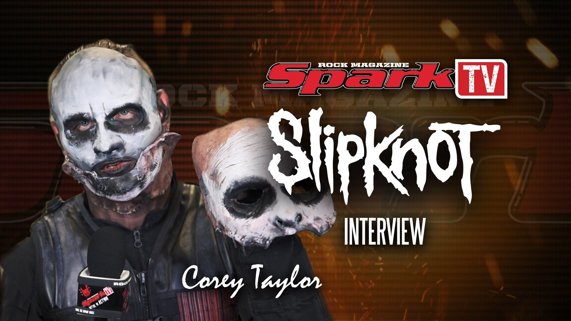 spark tv: slipknot - interview with singer corey taylor | slipknot