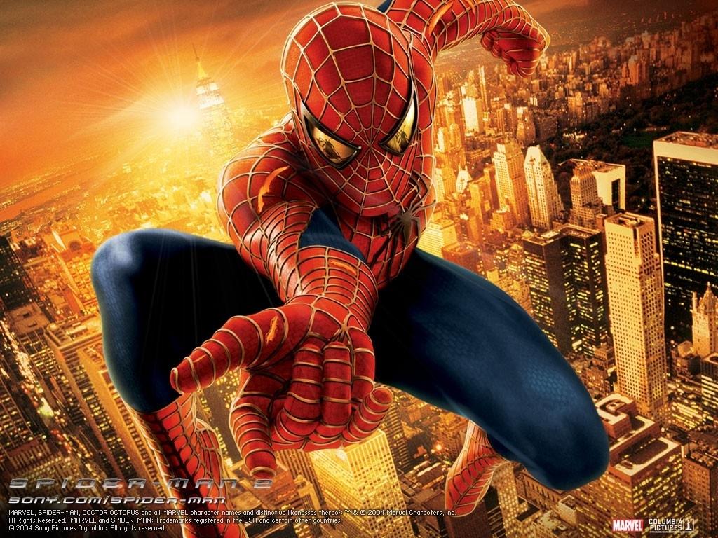 spider-man 2 wallpaper (1024 x 768 pixels)