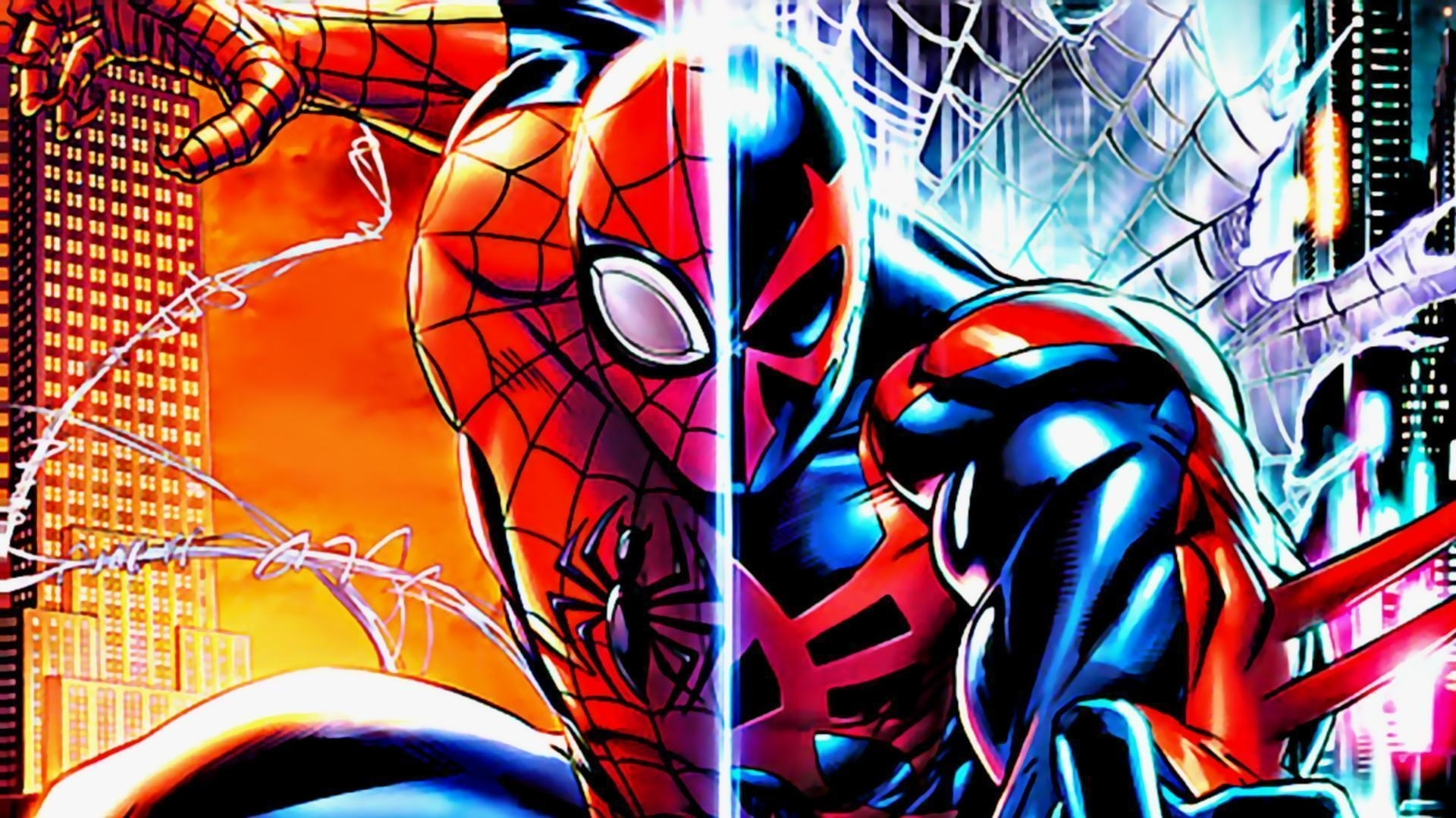 spider-man 2099 wallpapers - wallpaper cave