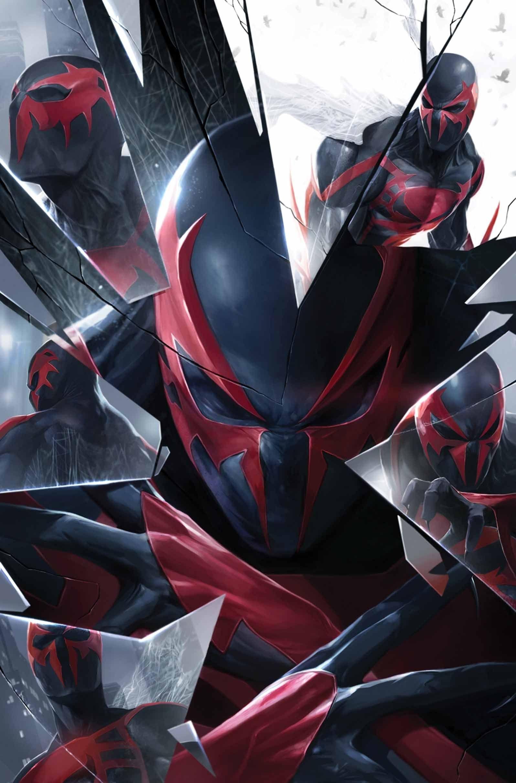 spider-man 2099francesco mattina   super hero fan board