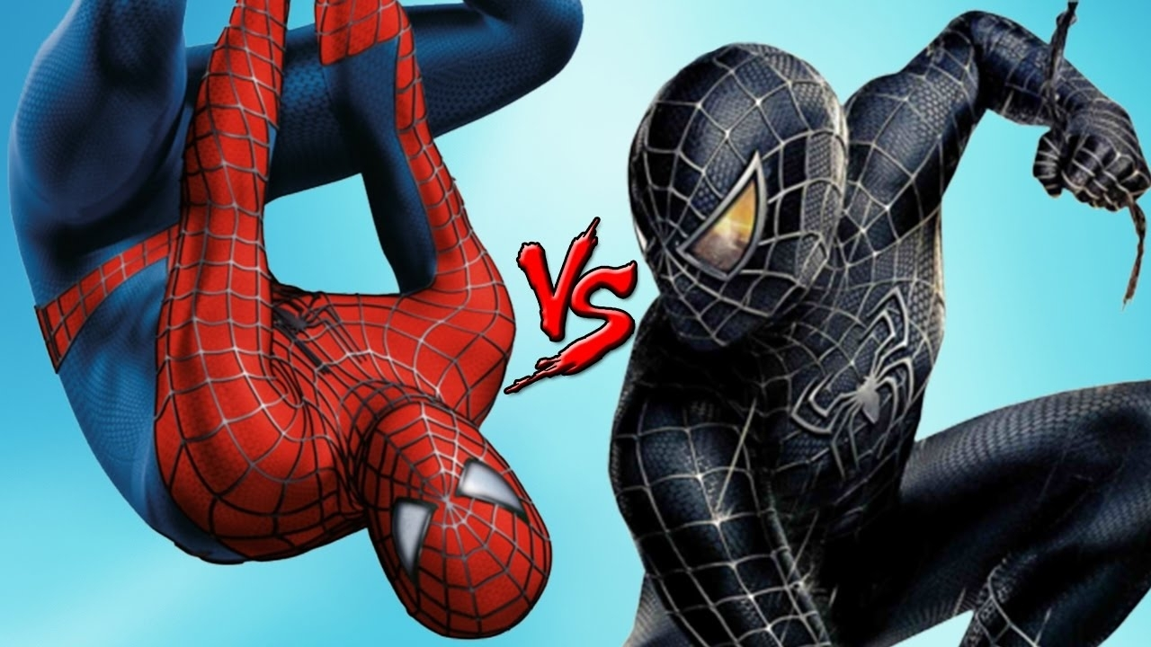 spider-man vs black spiderman - epic battle (superheroes fight