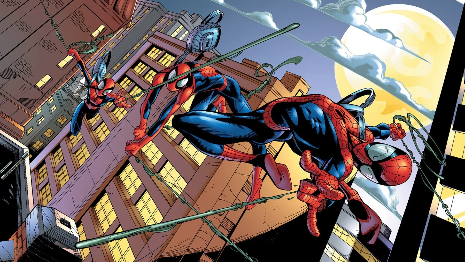 spiderman-comic-wallpaper-15 (1920×1080) | marvel | pinterest