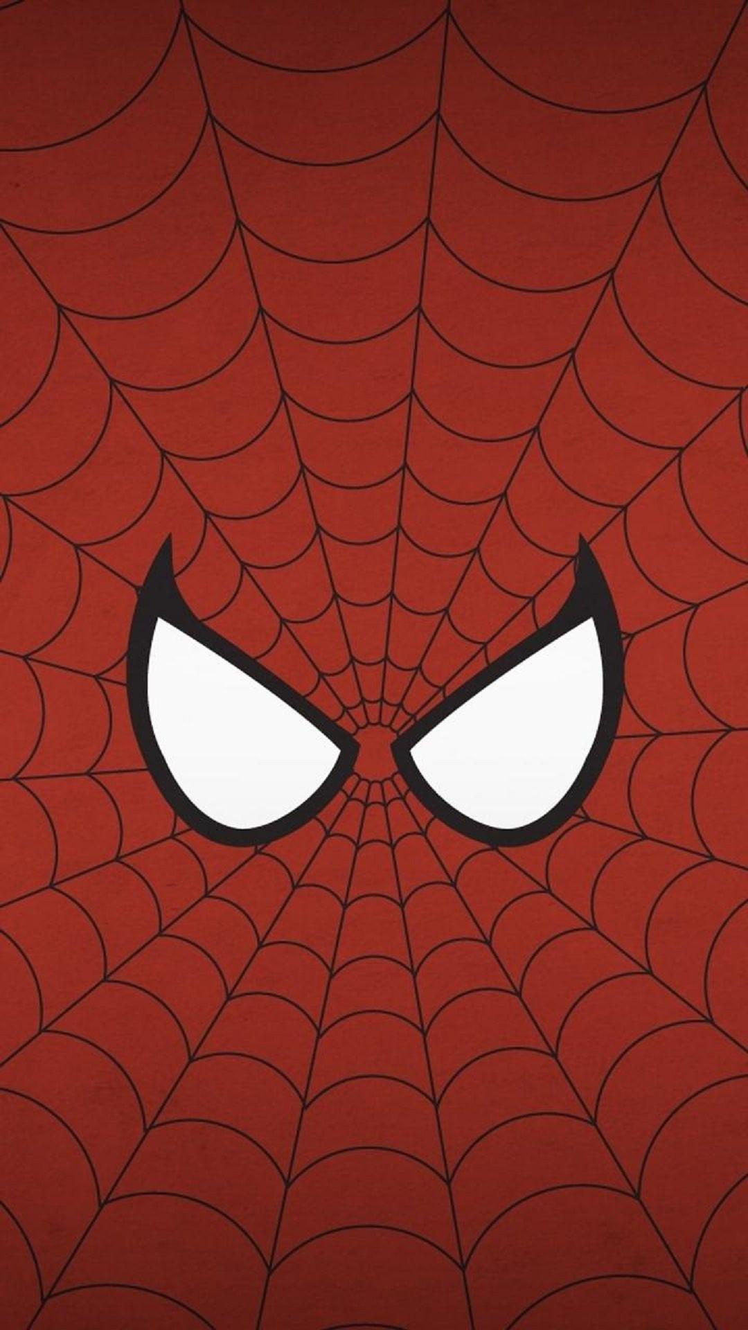 spiderman eyes illustration lg android wallpaper free download