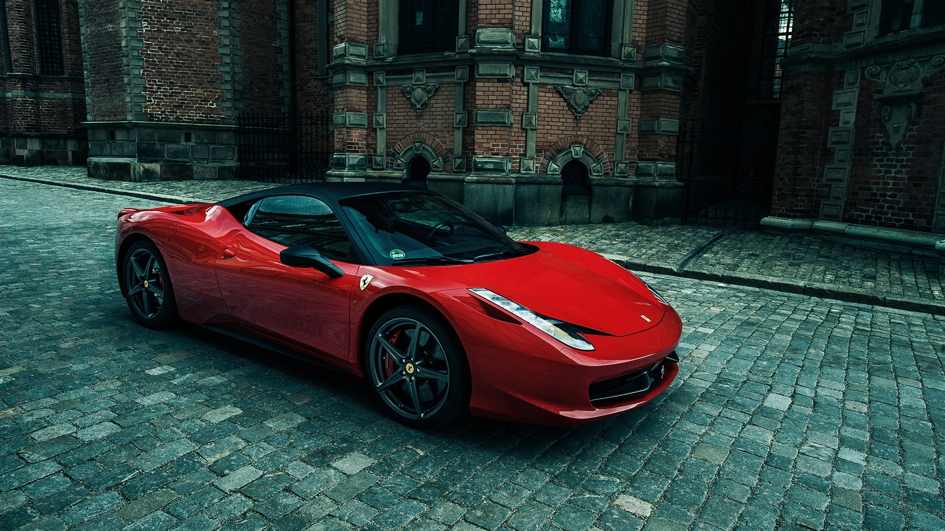 sporty ferrari 458 italia wallpaper | hd car wallpapers| id #3239