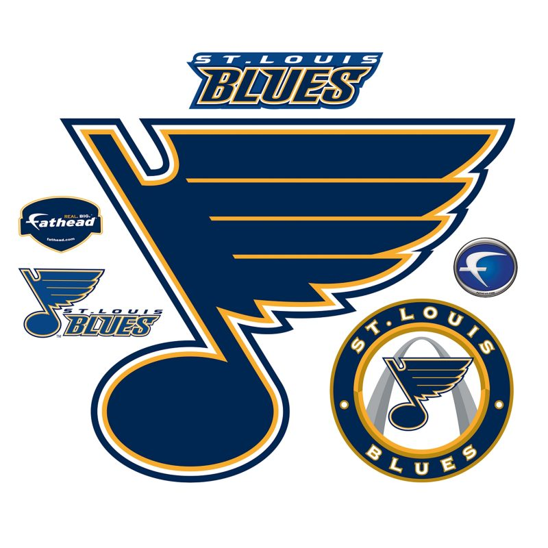 10 New St Louis Blues Logo Images FULL HD 1080p For PC Background 2020 free download st louis blues logo wall decal shop fathead for st louis blues 800x800