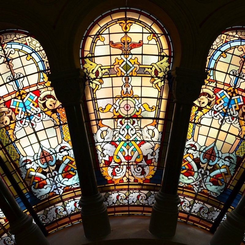 10 Top Stained Glass Window Wallpaper FULL HD 1920×1080 For PC Desktop 2018 free download stained glass windows in the qvb sydney australia full hd wallpaper 800x800