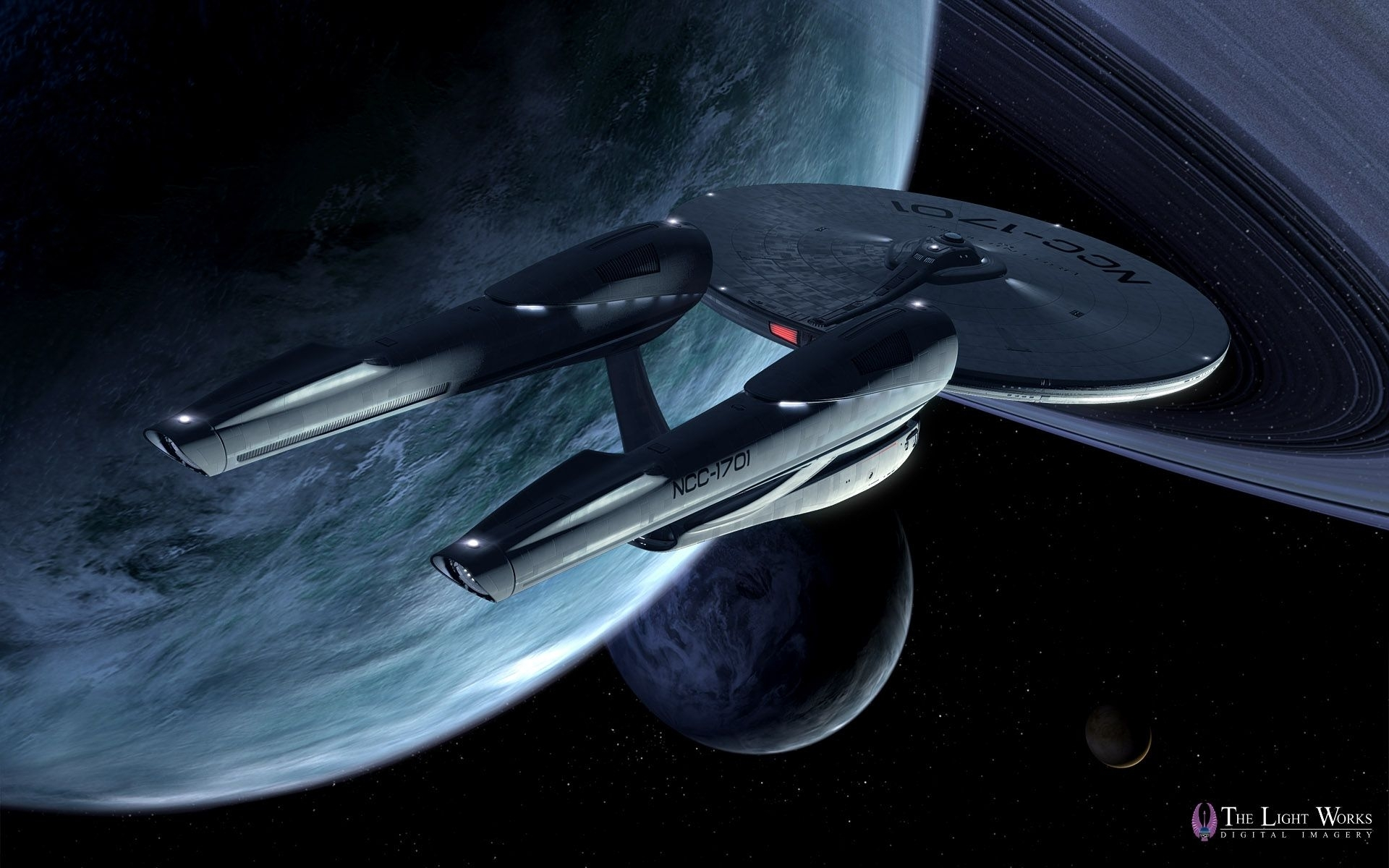 star trek 2009 ships | first look at tobias richter's star trek