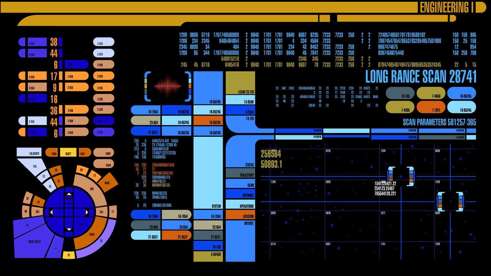 star trek computer wallpaper | nerdology: star trek | star trek