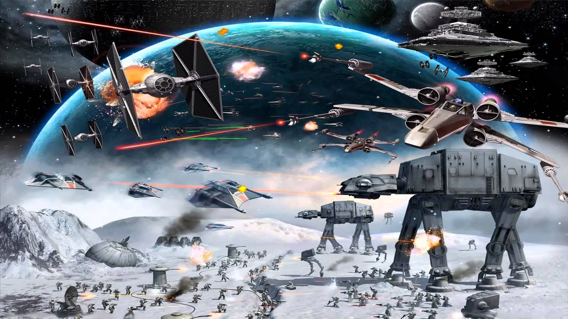 10 Latest Star Wars Screen Savers FULL HD 1920×1080 For PC Desktop