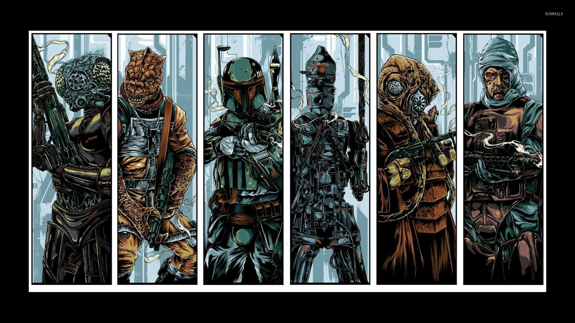 star wars: bounty hunter wallpaper - game wallpapers - #15901
