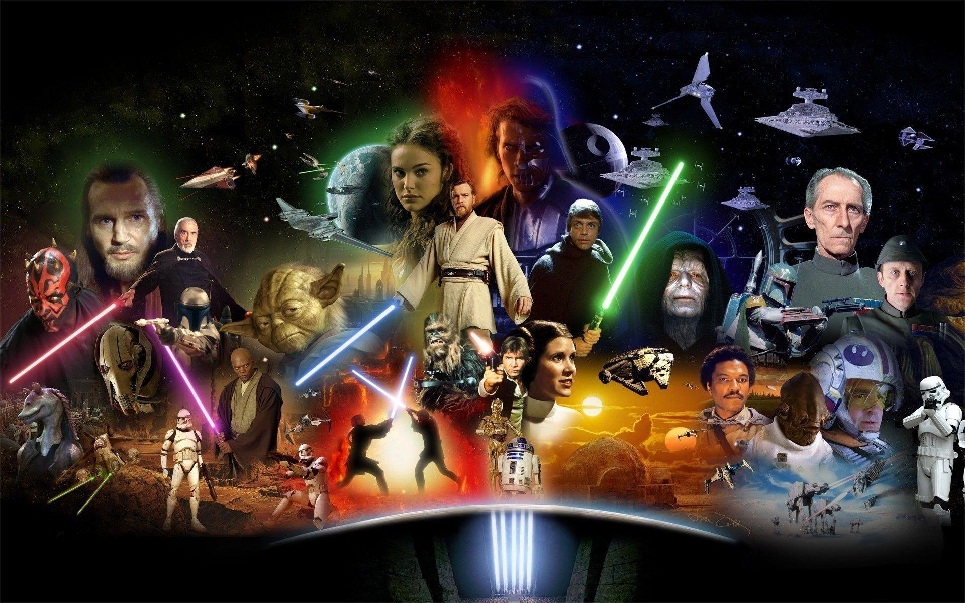 10 Best Star Wars Characters Wallpaper FULL HD 1920×1080 For PC Desktop