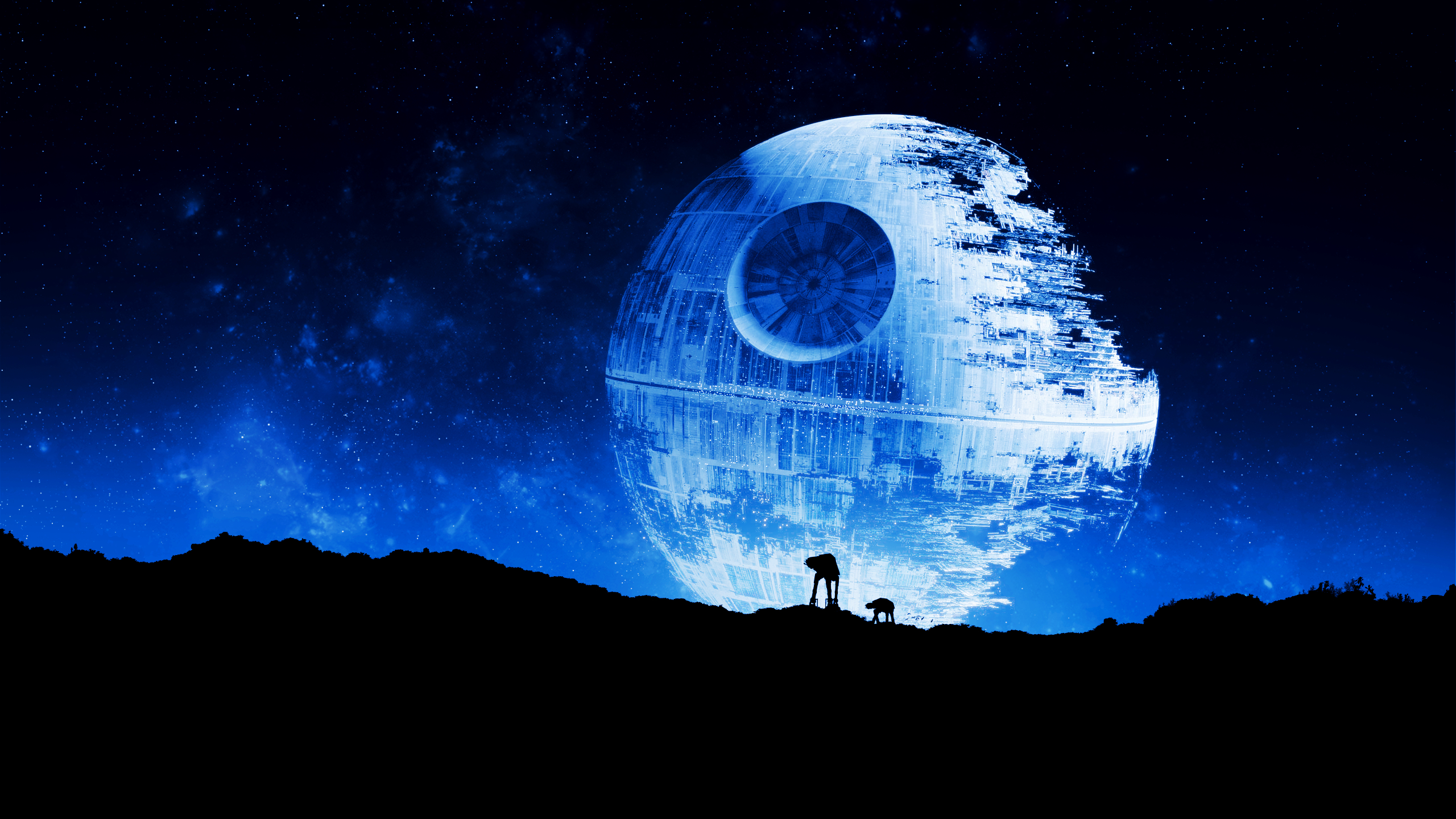 star wars death star (2560x1440) : wallpapers