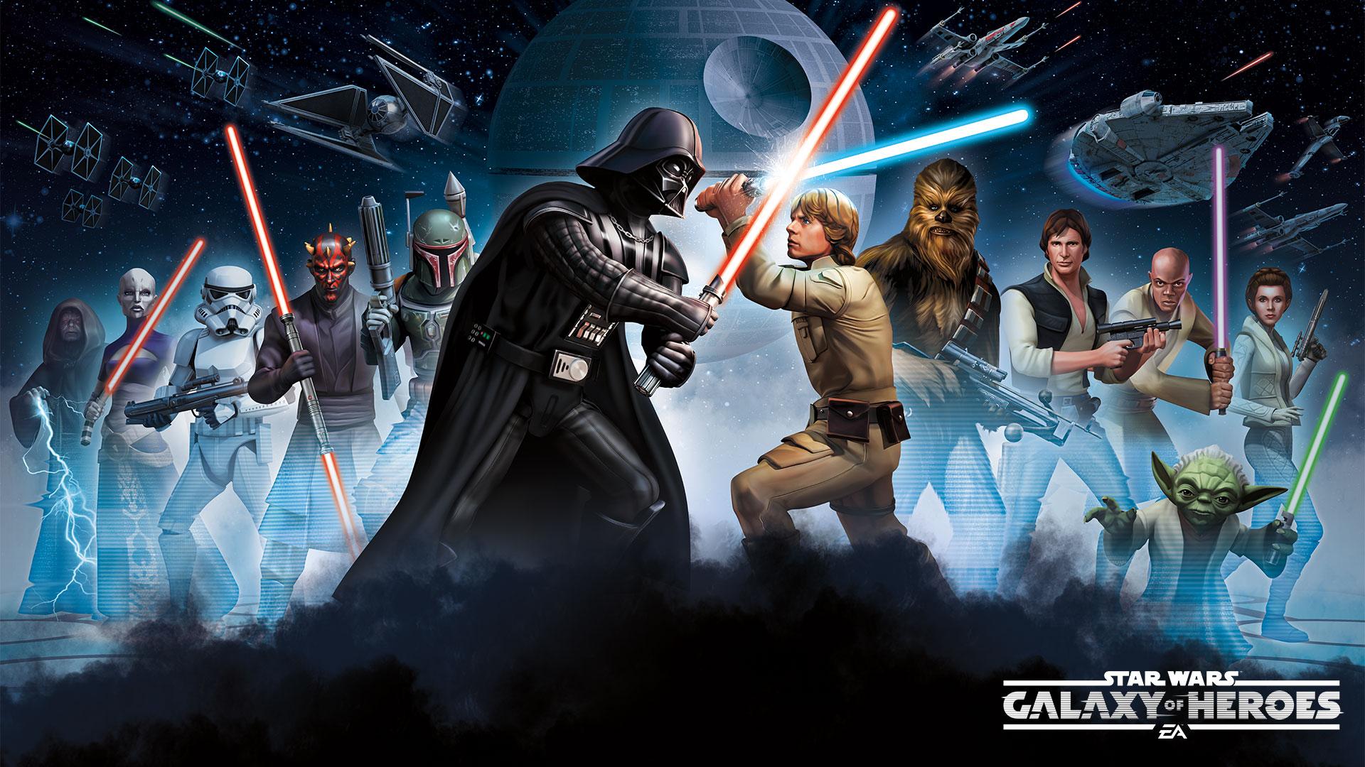star wars galaxy of heroes-spielankündigung