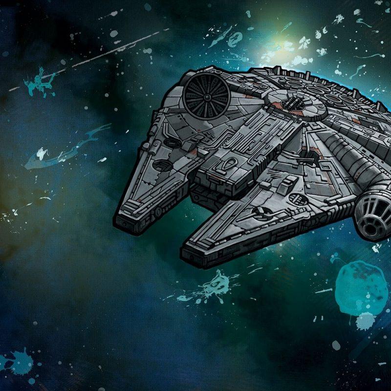 10 Latest Star Wars Millennium Falcon Wallpaper FULL HD